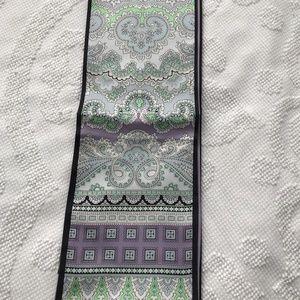 NWOT Talbots thin silk scarf